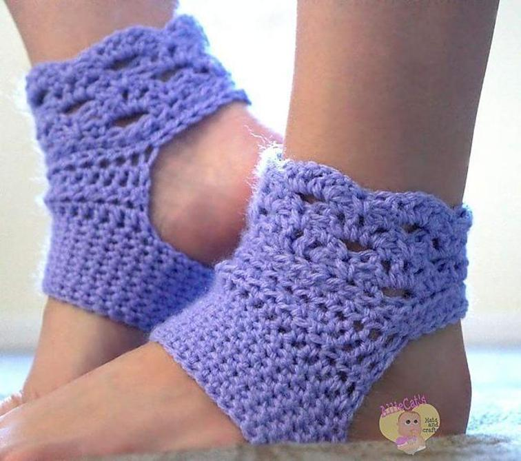 Perfect Harmony Yoga Sock Pattern