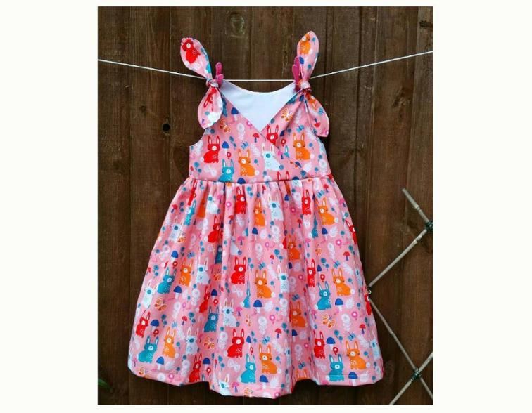Petite Fille Style Girls Dress Sewing Pattern