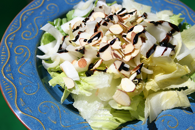 Salad with endives