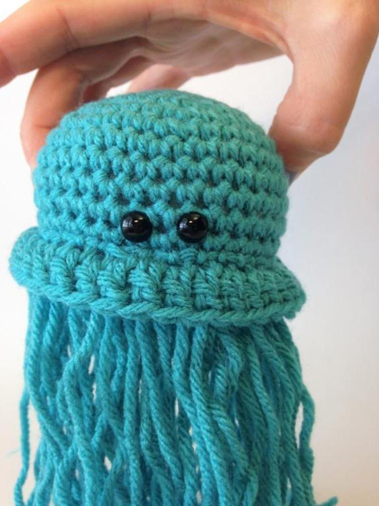 Small Jellyfish Crochet Pattern