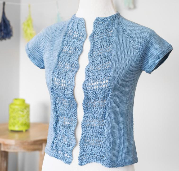 Summer Waves knit cardigan