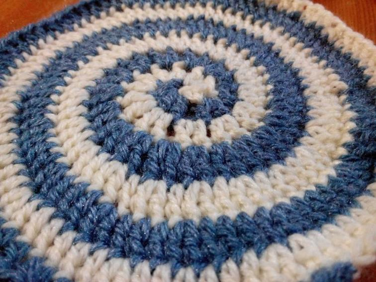 two color spiral crochet pattern