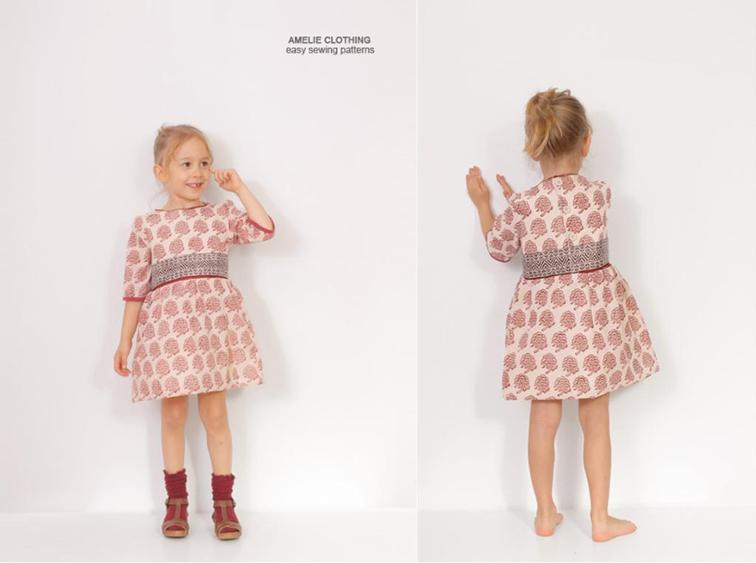 Victoria Girls Dress Sewing Pattern