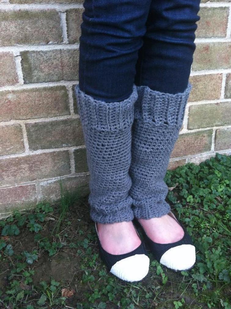 Winter Break Legwarmers Crochet Pattern