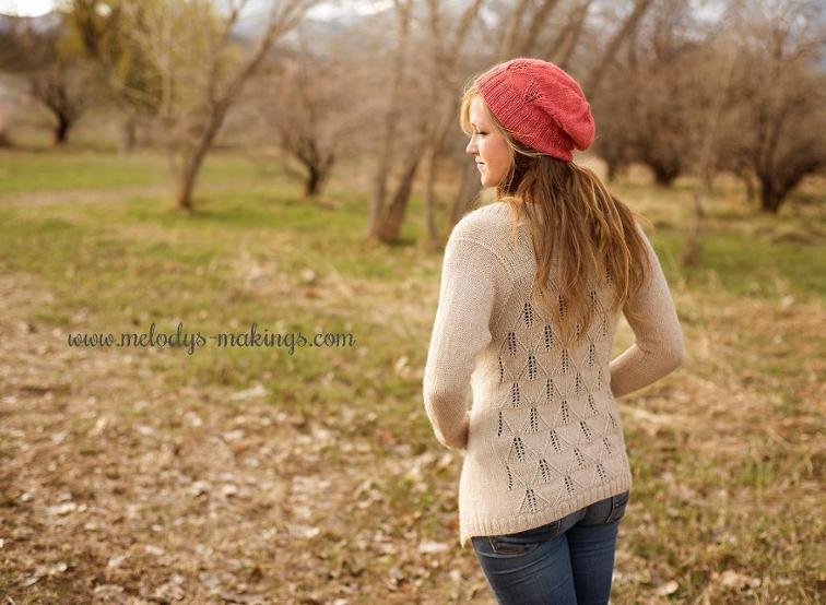 Wisteria knit cardigan
