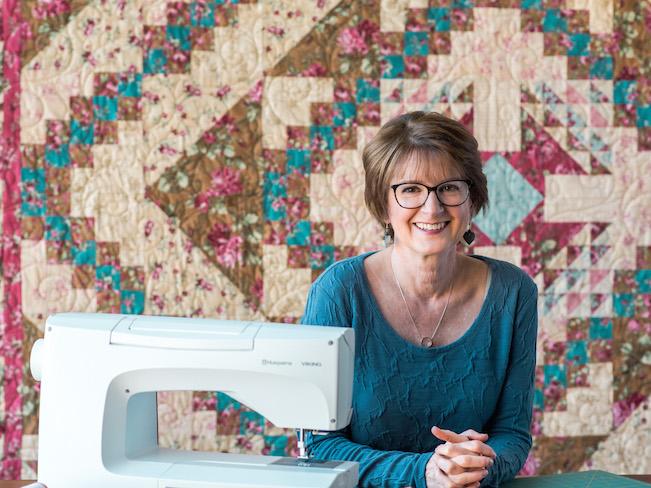 Kate Colleran, Flower Basket Quilt Designer
