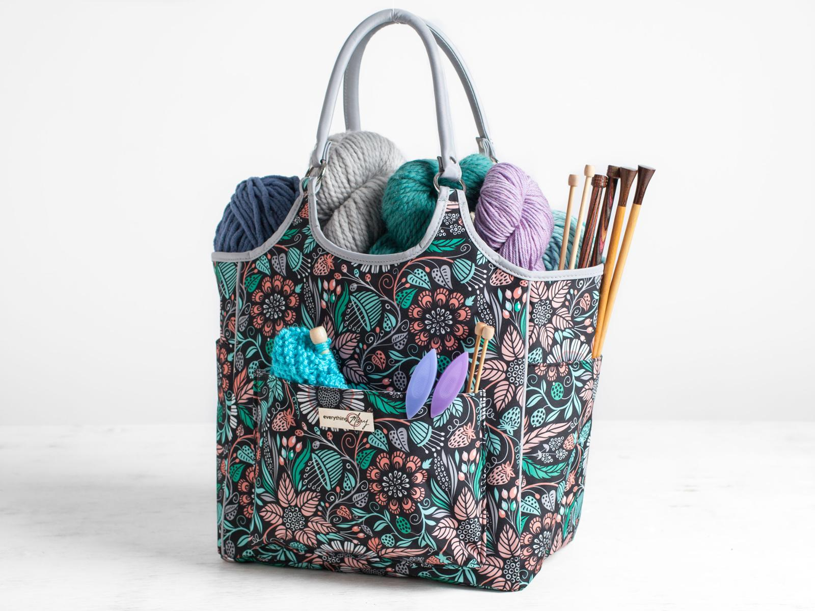 Everything Mary Deluxe Yarn Tote