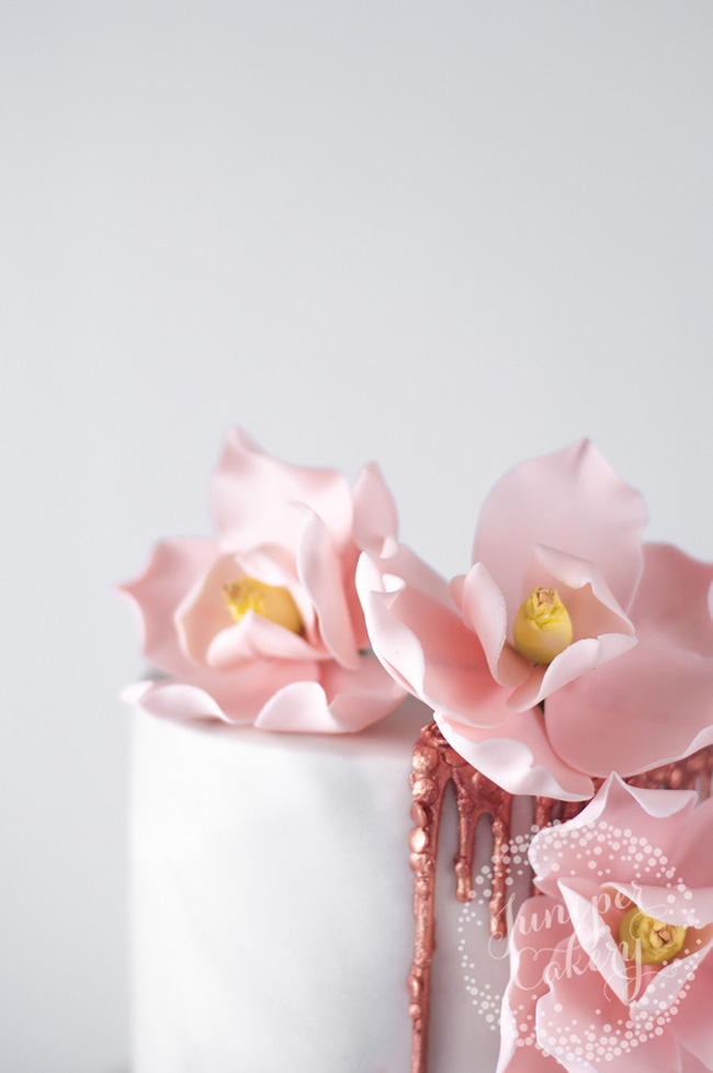 Habits to get into when making sugar flowers