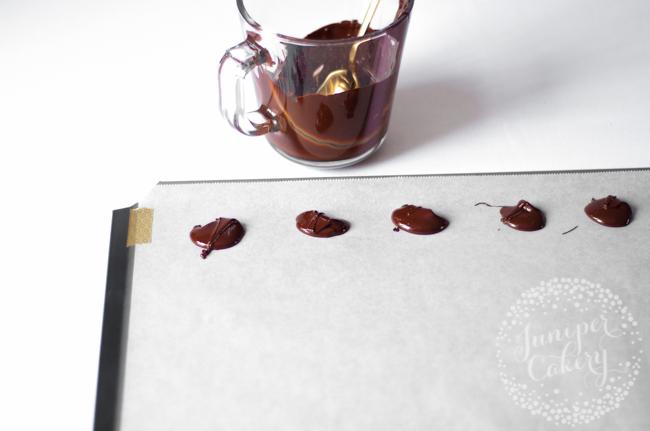 Brushstroke candy melt cake tutorial