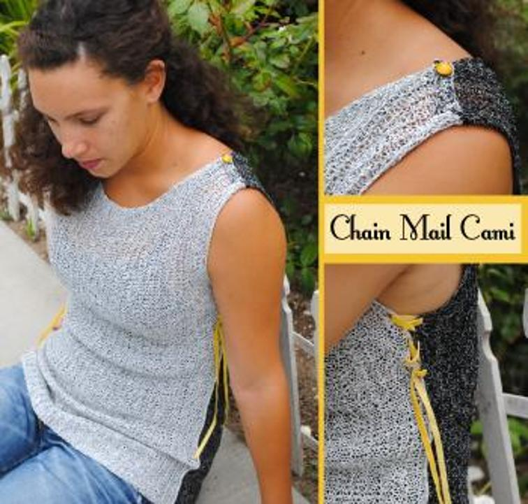 knit Chain Mail Cami