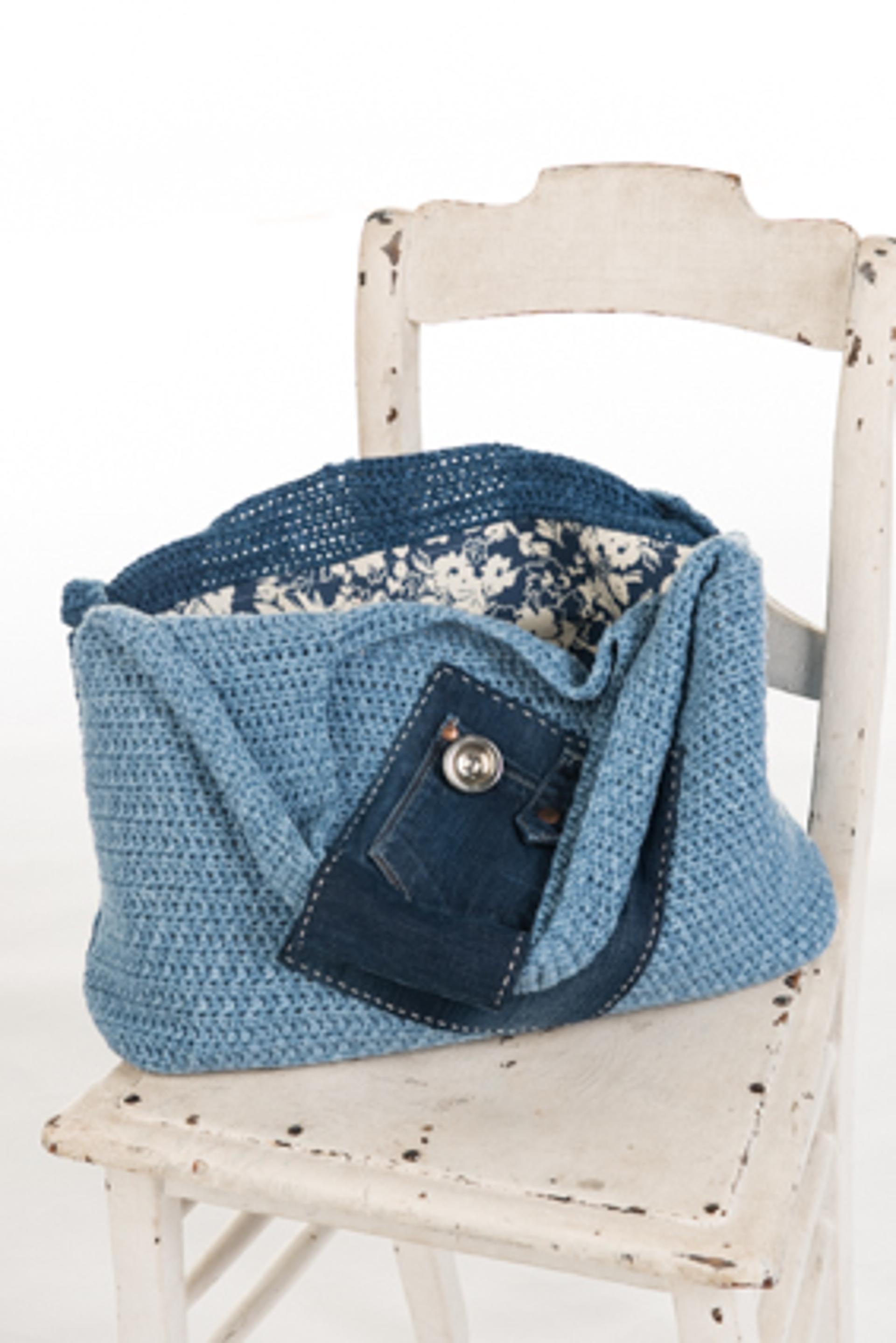 crochet denim shoulder bag pattern
