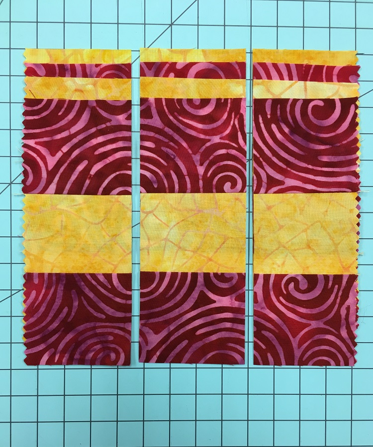 Cut Strip Sets