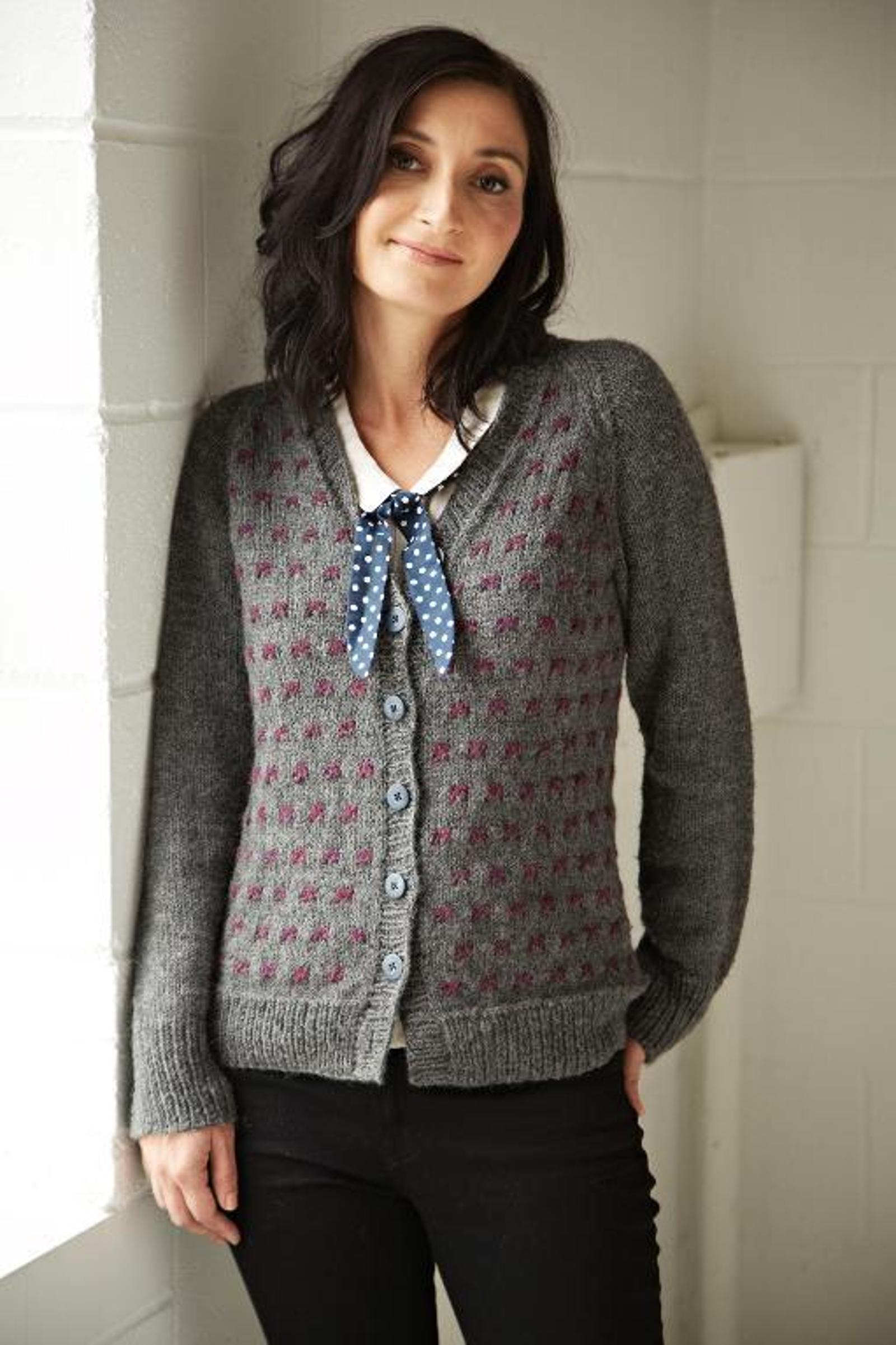 knit Darjeeling cardigan