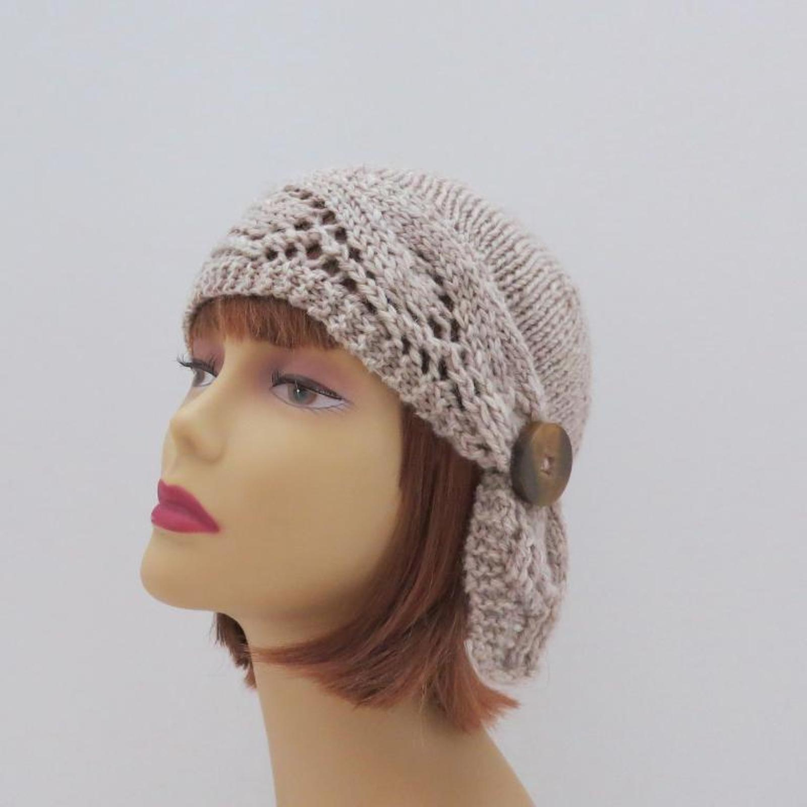 knit Downton Style Adelaide Cloche