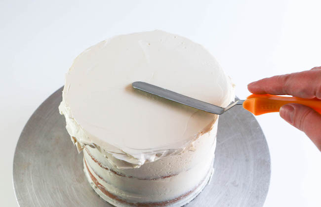 Smoothing the Top of the Cake