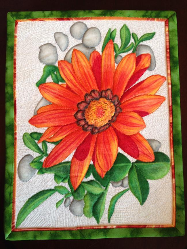 Floral Art Quilt