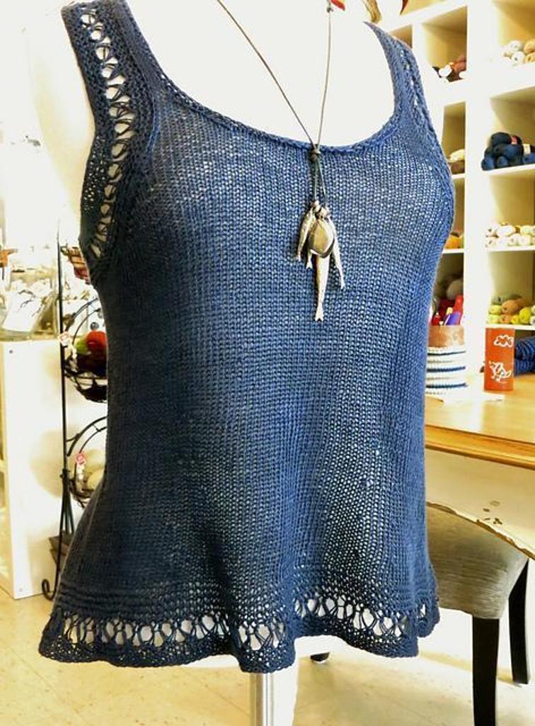 knit Marin-Lin Cami