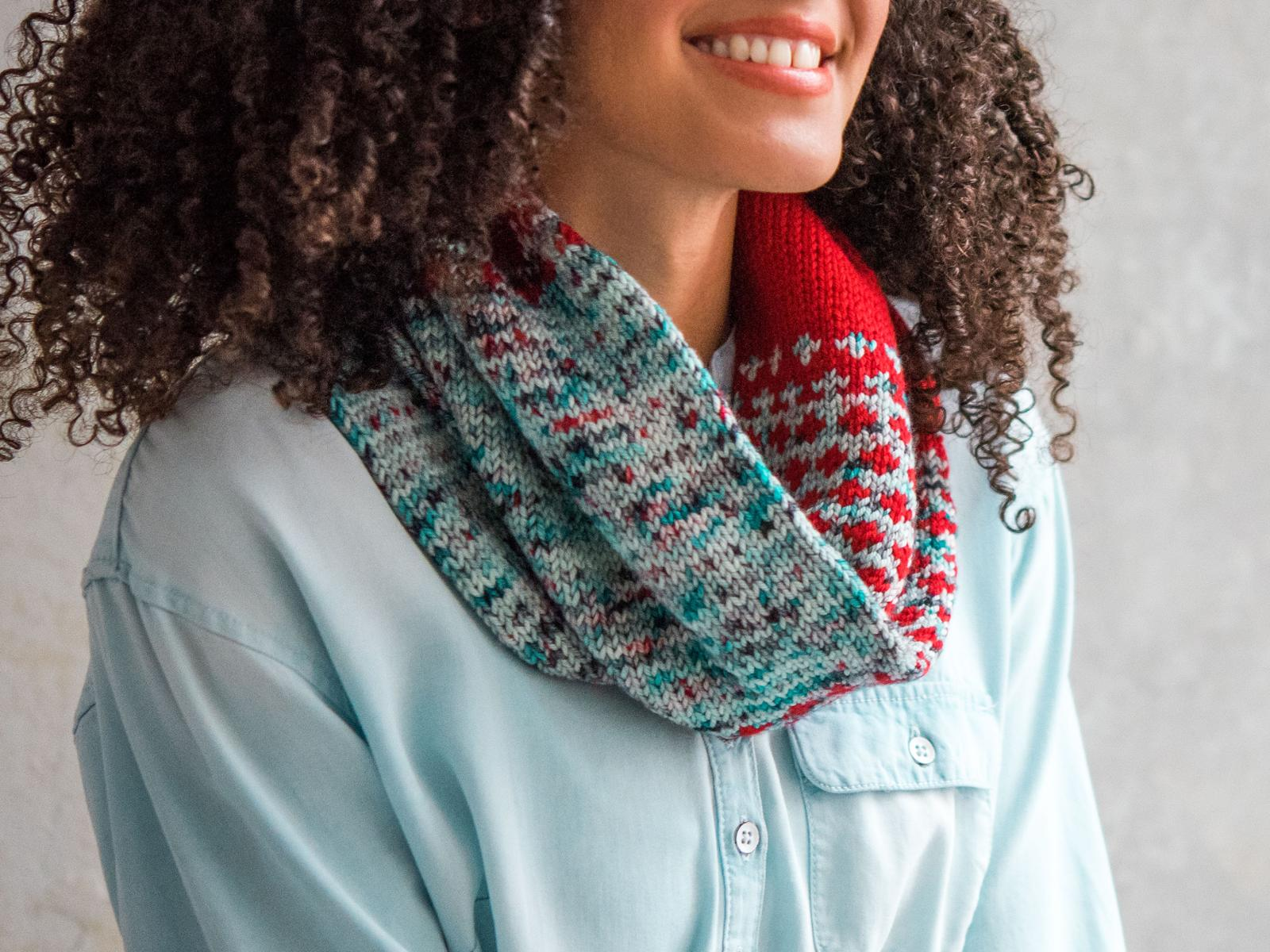 Cruces Cowl Knitting Pattern