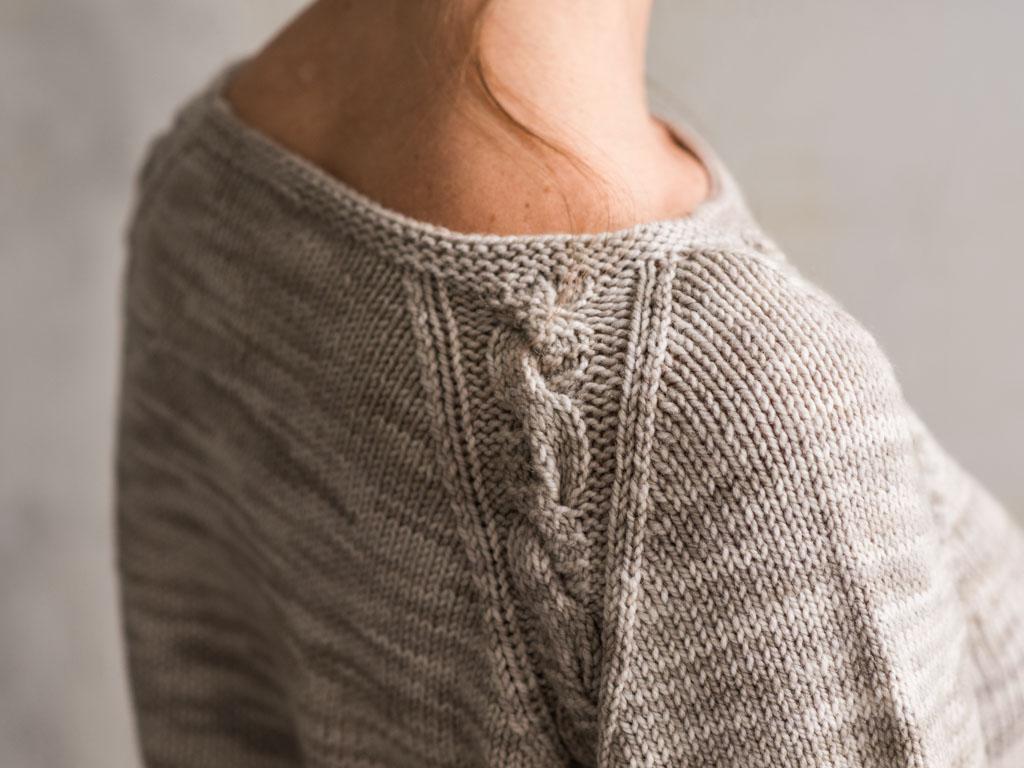 Zadie Sweater back Detail