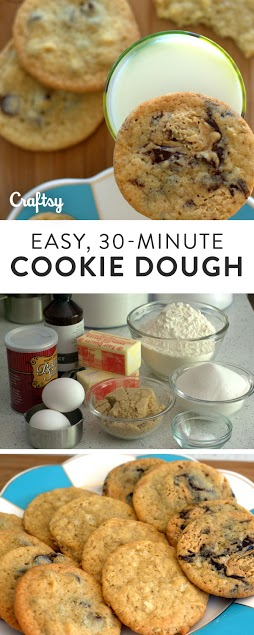 Scrumptious and simple 30 minute cookie dough recipe