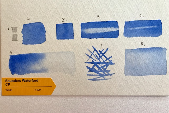 Saunders Waterford Cold Press Paper Test