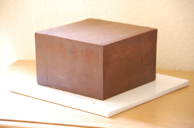 Ganache Cake with Sharp Edges by Bluprint Instructor Jessica Harris