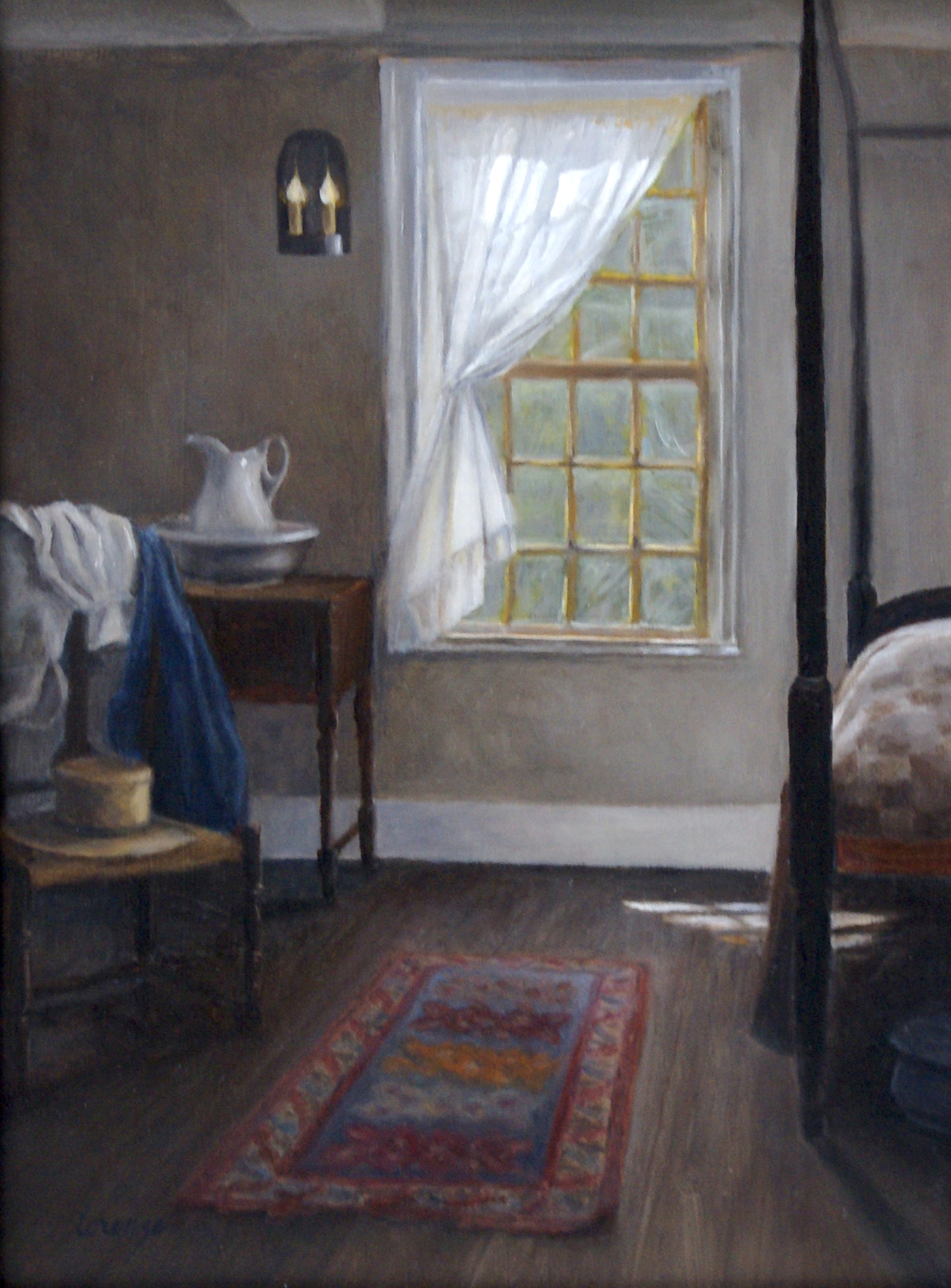 Morning Light at Seven Hearths by Dorothy Lorenze