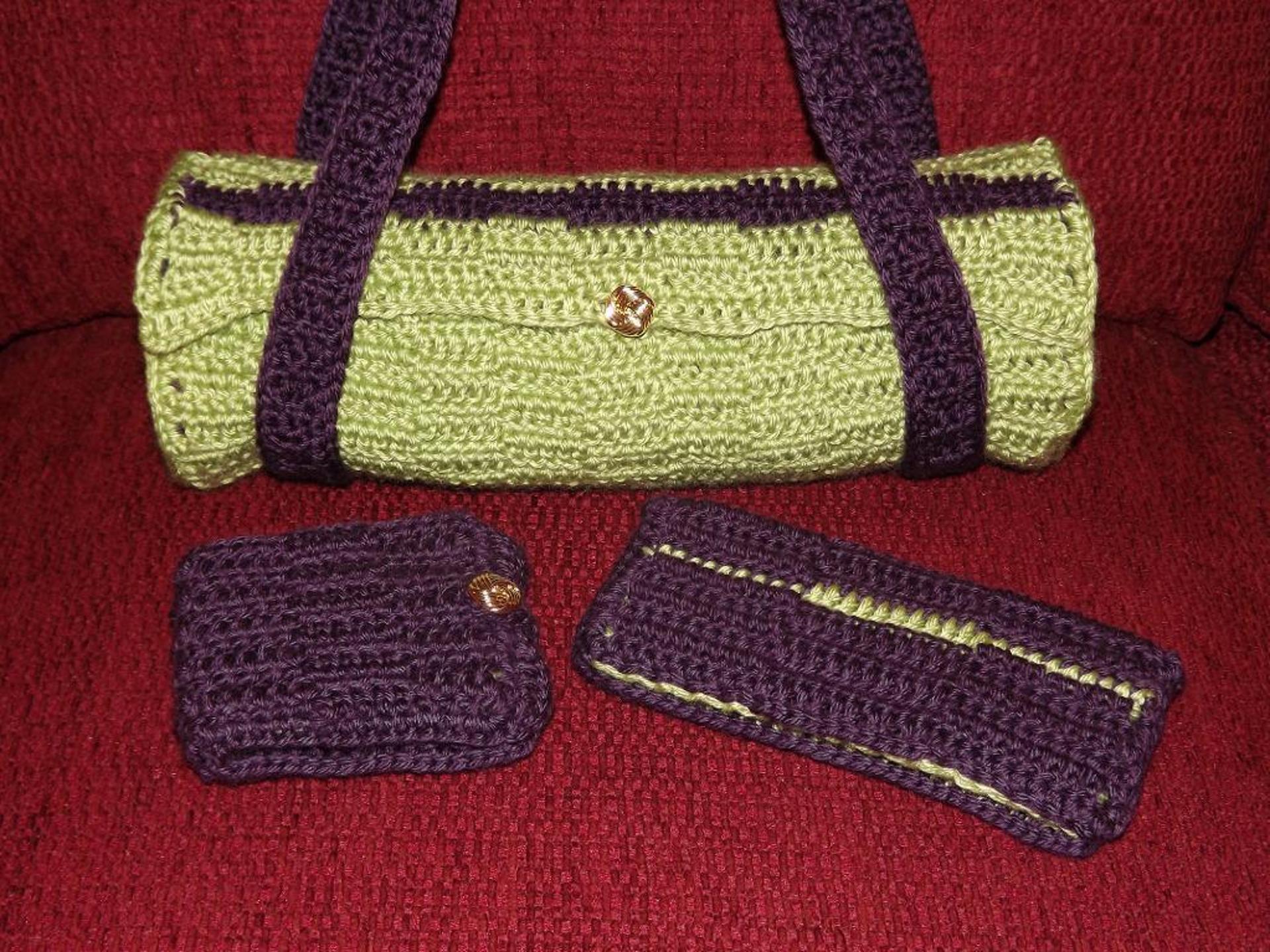 bolster bag crochet pattern