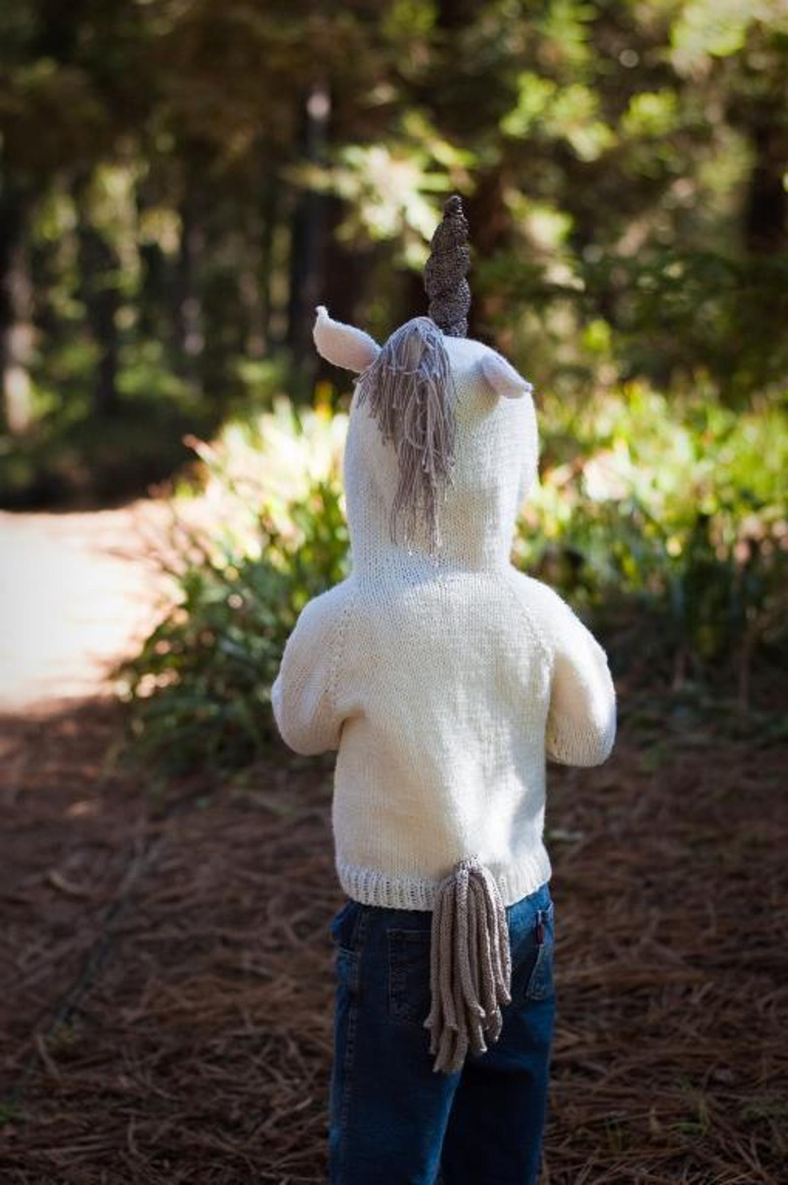Children's Fairy Tale Unicorn Hoodie