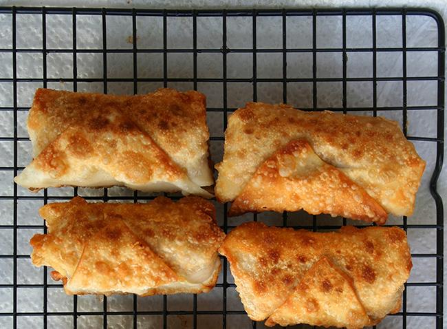 cookie dough egg rolls
