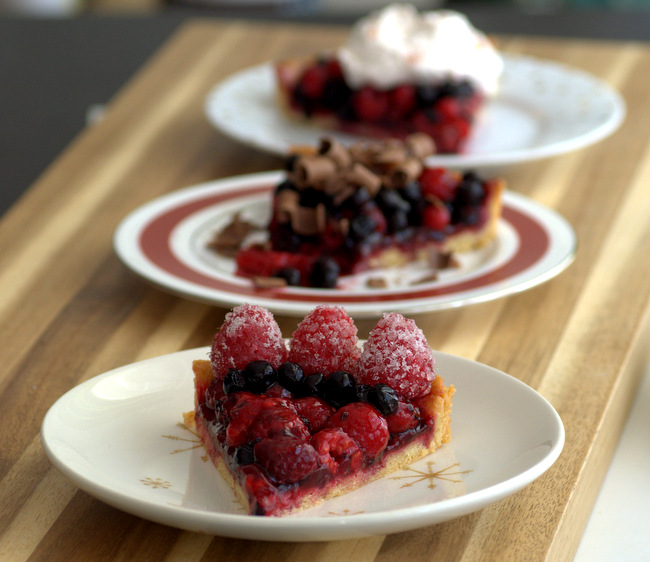 5 Fancy (and Easy) Ways to Finish a Tart