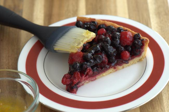 5 Fancy (and Easy) Ways to Finish a Tart: Fruit Glaze