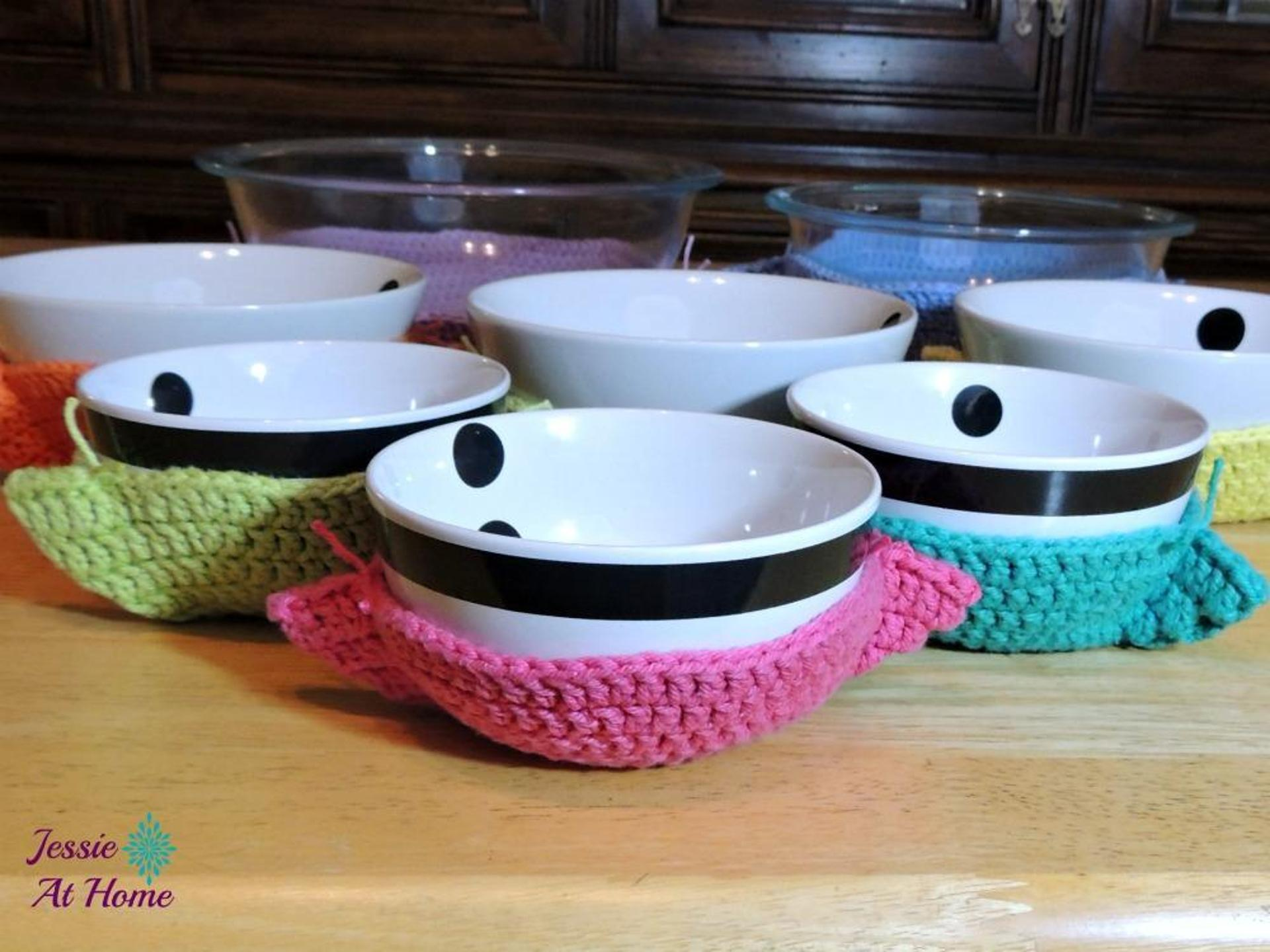 bowl cozy crochet pattern