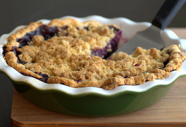 All Purpose Crumble Pie Topping Recipe - with Variations!
