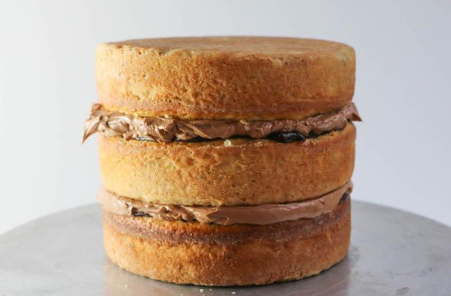 Finished Filled Cake | Erin Gardner