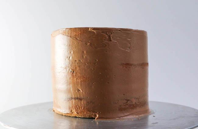 Crumb Coated Cake | Erin Gardner