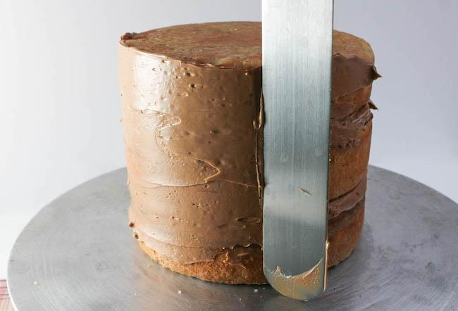 Crumb Coating the Cake | Erin Gardner