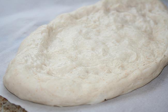 Dough ready to go