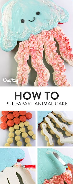 Pull apart animal cakes are perfect for any occasion
