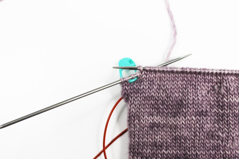 Short Row Heel stitch