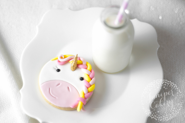 Find out how to make easy unicorn cookies