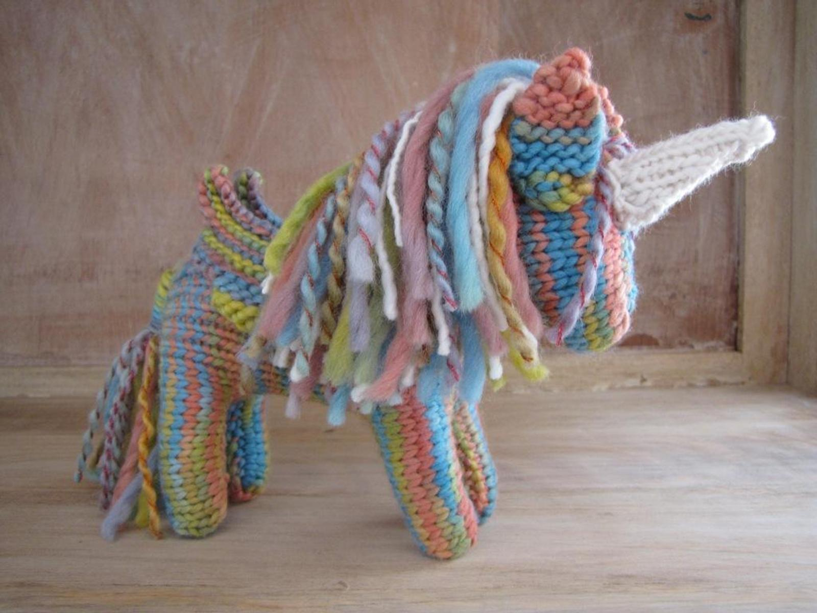Unicorn Pegasus Knitting Pattern