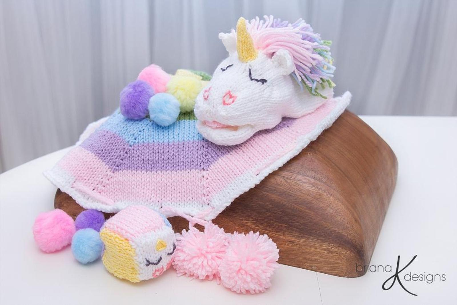 Unicorn Rainbow Knit Game