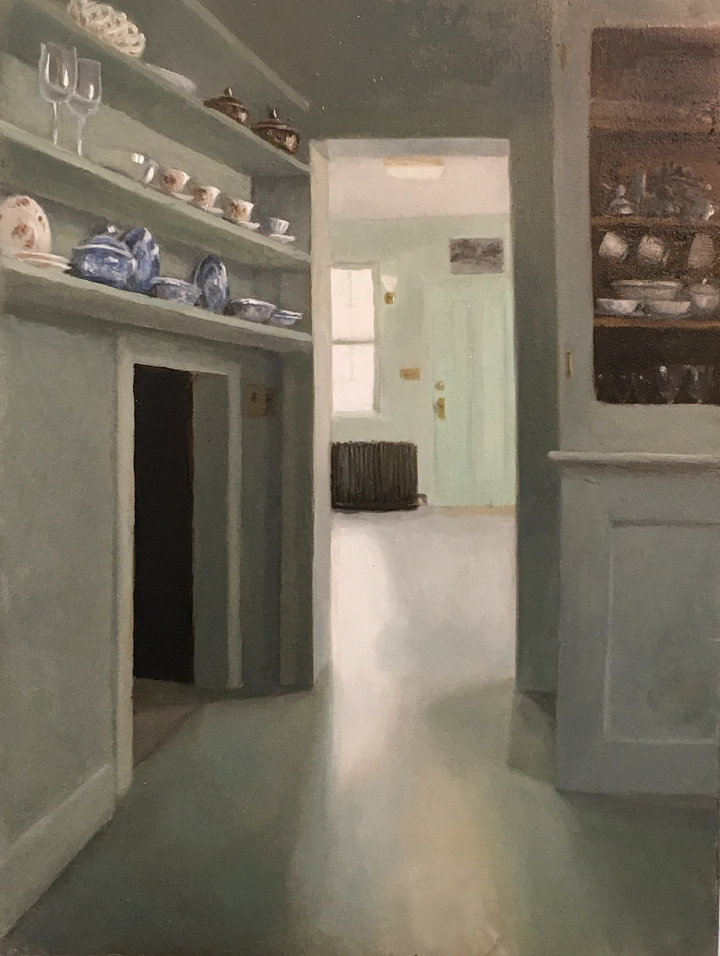 Quiet Pantry at Weir Farm by Dorothy Lorenze