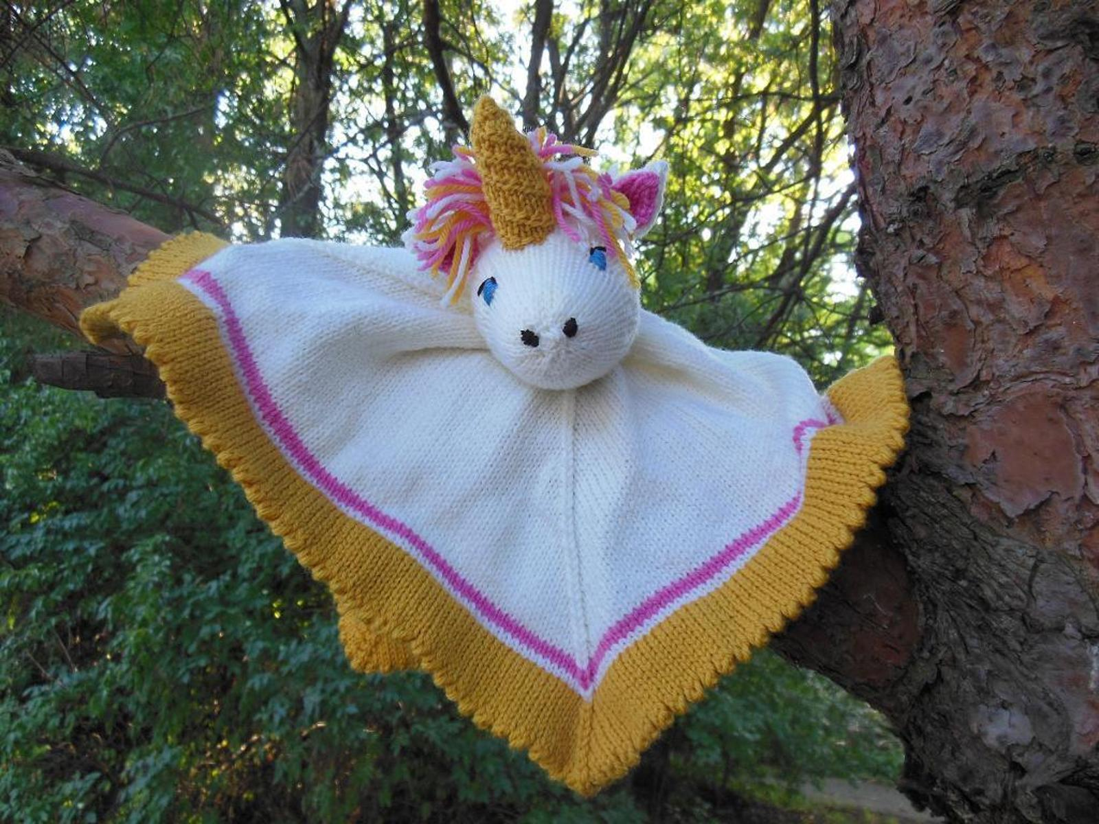 Woobie Unicorn Knitting Pattern