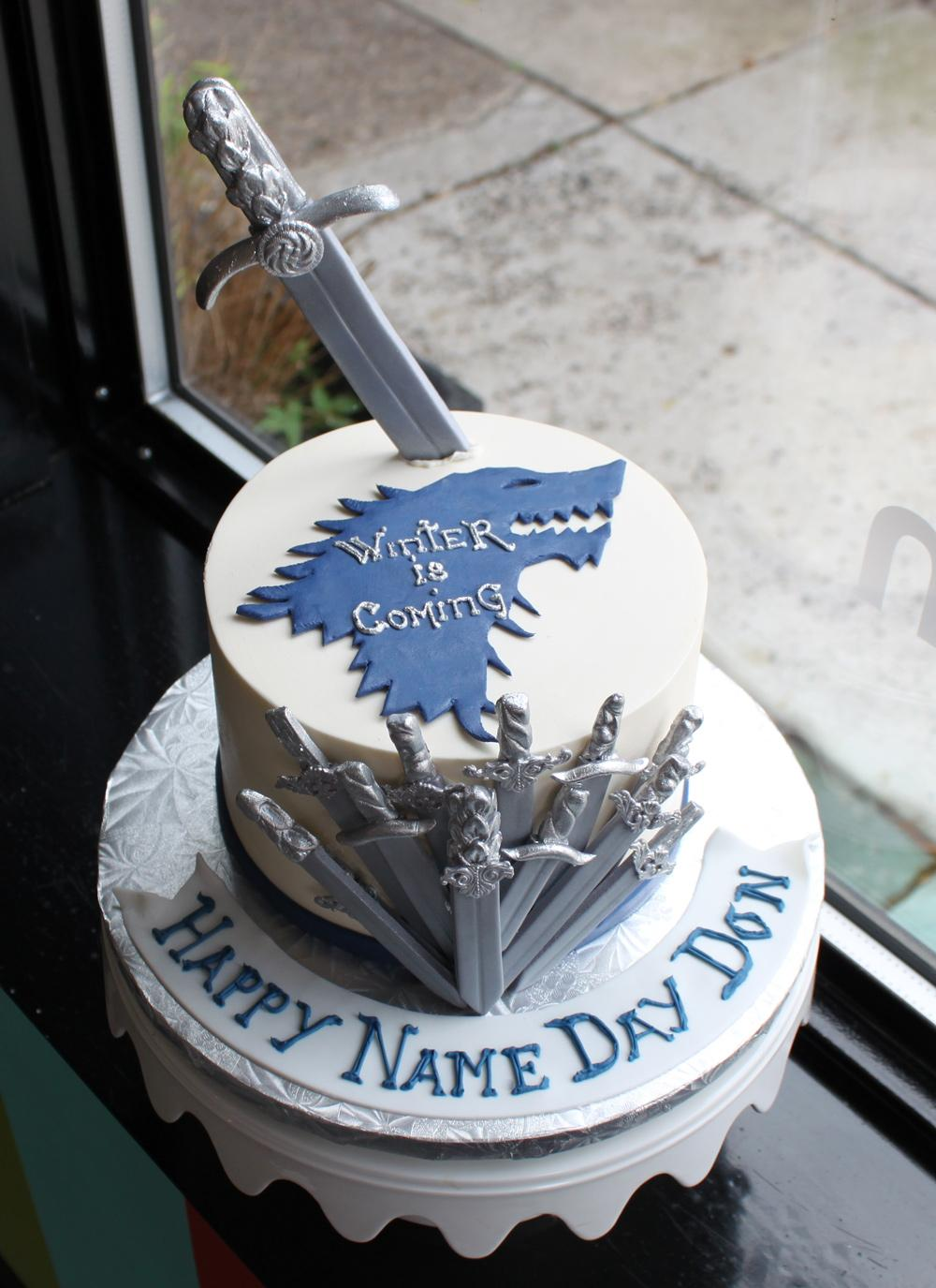 Winter is coming cake