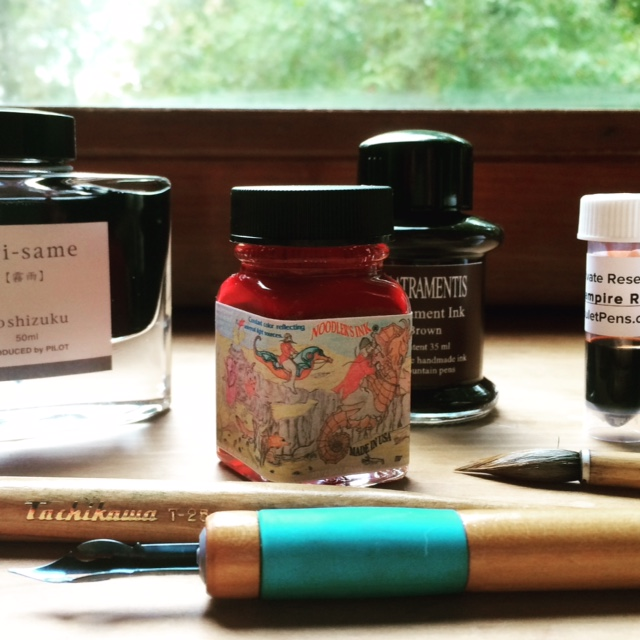 Inks ready to test