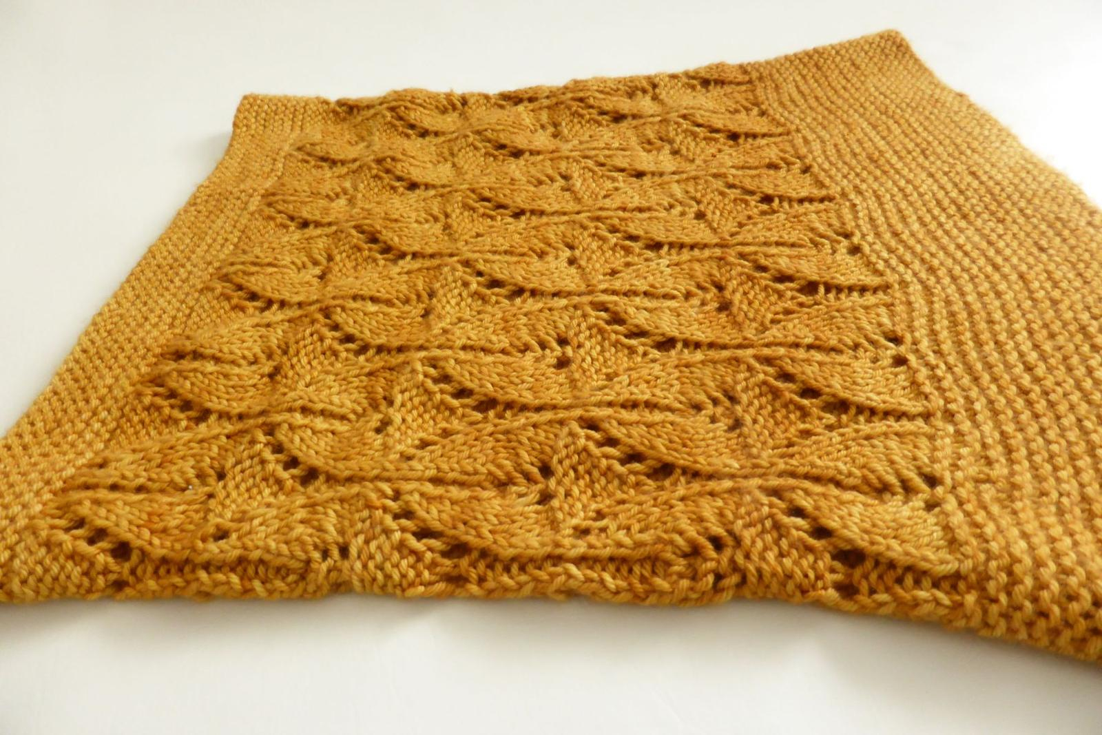 Under the Golden Sun Cowl Knitting Pattern