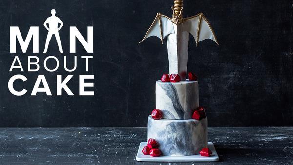 Man About Cake - Dragon Cake