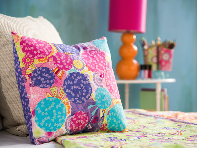 Butterfly Blooms Pillow